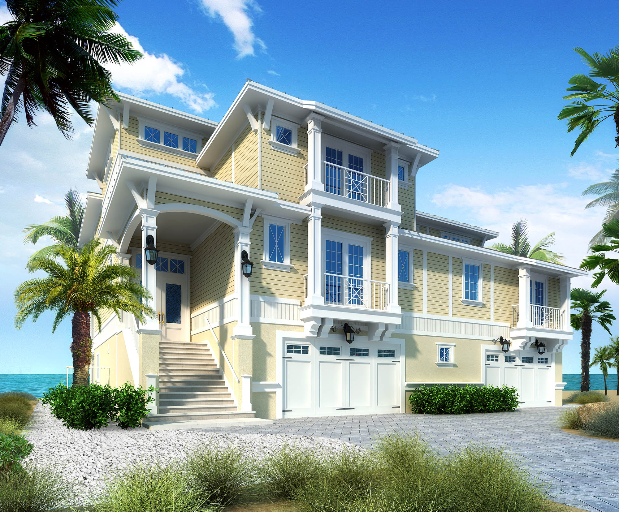 Affordable realistic Renderings From